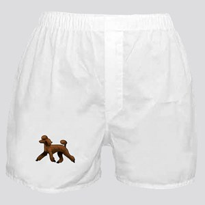 red poodle Boxer Shorts