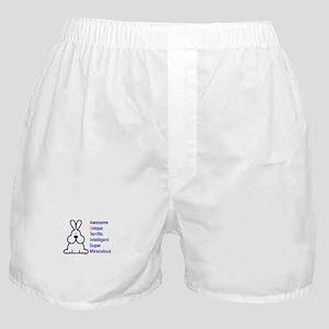 Autism 317 front Boxer Shorts