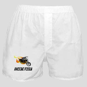 Flaming Awesome Possum Boxer Shorts