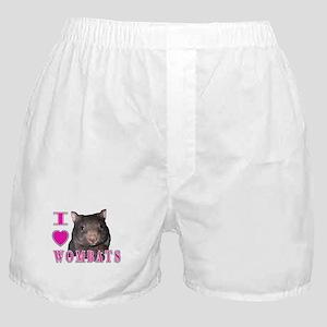 I Love ( Heart ) Wombats Boxer Shorts