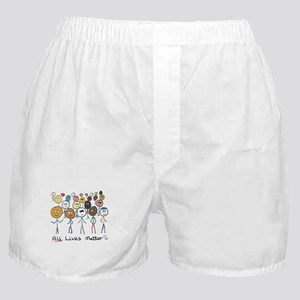 All Lives Matter 2 Boxer Shorts