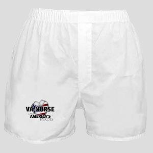 VA Nurse - Caring for America Boxer Shorts