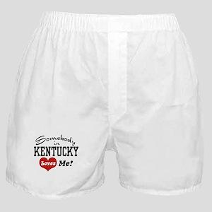 Somebody in Kentucky Loves Me Boxer Shorts
