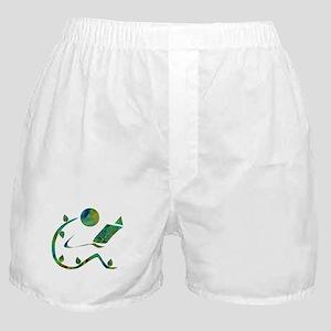 Green Reader Boxer Shorts