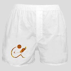 Reader - Golden - Sans Quote Boxer Shorts