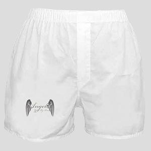 Angels Got My Back Boxer Shorts