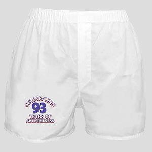 Celebrating 93 Years Boxer Shorts