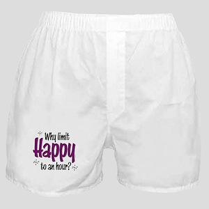 Limit Happy Hour? Boxer Shorts