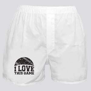 I Love This Game Boxer Shorts