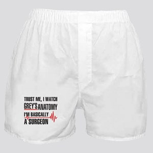 Greys Anatomy Trust me Boxer Shorts