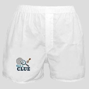 Get A Clue Boxer Shorts