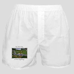 John Muir Trail Boxer Shorts