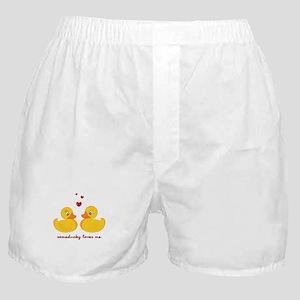 Someducky Loves Me Boxer Shorts