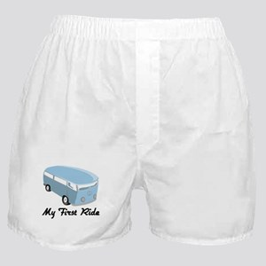My First Ride Boxer Shorts