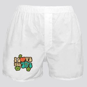I Love The 70's Boxer Shorts