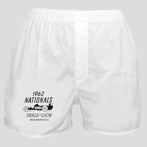 Drags Racing Indianapolis 1962 Boxer Shorts