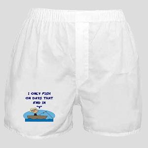 Fishing Days Boxer Shorts