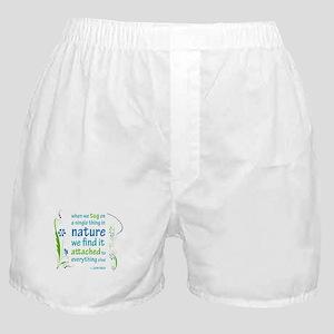 Nature Atttachment Boxer Shorts