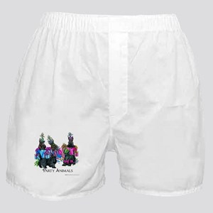 Scottish Terrier Party Animals Boxer Shorts
