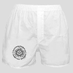 Saving People Hunting Things Boxer Shorts