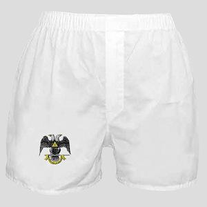 32nd Degree Mason Boxer Shorts