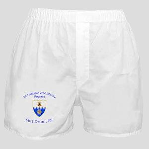 2nd Bn 22nd Inf Reg Boxer Shorts