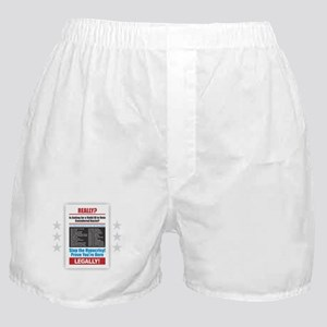 Voter ID Boxer Shorts