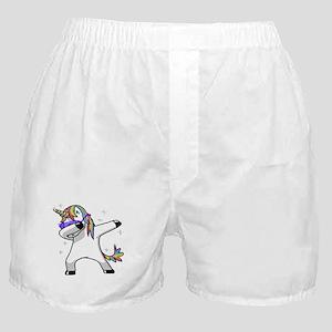 unicorn dabbing Boxer Shorts