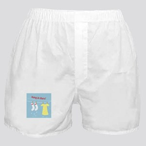Hang In There Boxer Shorts