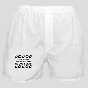 50th Anniversary Dog Years Boxer Shorts