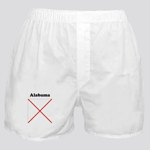 Alabama State Flag Boxer Shorts