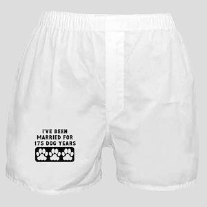 25th Anniversary Dog Years Boxer Shorts