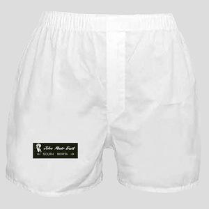 John Muir Trail, California Boxer Shorts