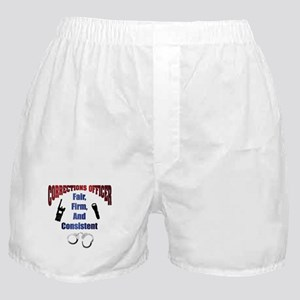 Corrections Officer 3 Boxer Shorts