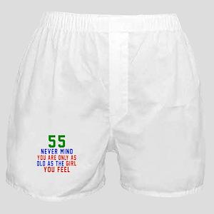 55 Never Mind Birthday Designs Boxer Shorts
