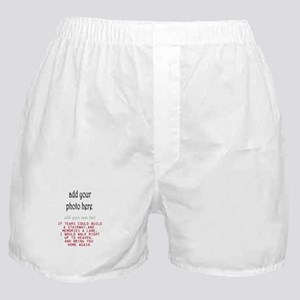 In memory of Personalize Boxer Shorts