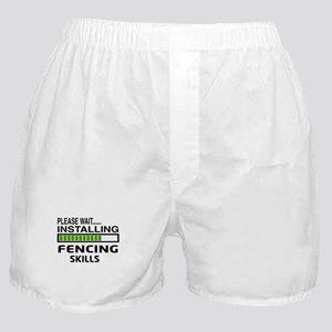 Please wait, Installing Fencing Skill Boxer Shorts