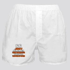 66 Just Remember Birthday Designs Boxer Shorts