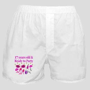 17TH BIRTHDAY Boxer Shorts