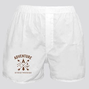 ADVENTURE EVERYWHERE Boxer Shorts