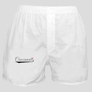 Cincinnati Heart Logo Boxer Shorts