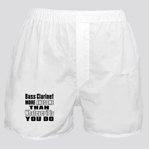 Bass Clarinet More Awesome Boxer Shorts