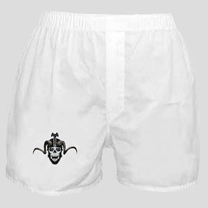 Ram skull biker Boxer Shorts