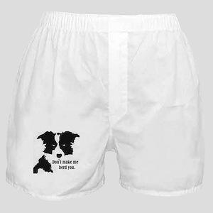 Border Collie Art Boxer Shorts