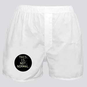 This is not normal Boxer Shorts