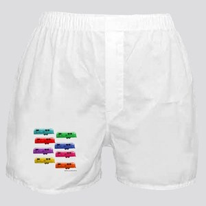 Airstream trailers candy colors Boxer Shorts
