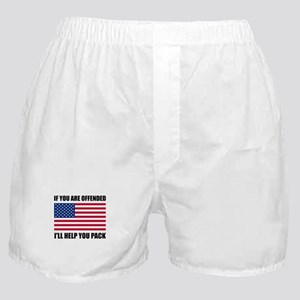 Offended USA Flag Help Pack Boxer Shorts
