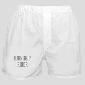 MIDNIGHT RIDER Boxer Shorts