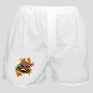 Emoji Poop LOL Boxer Shorts