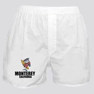 Monterey, California Boxer Shorts